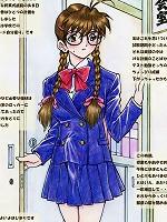 Juicy and slutty schoolgirl shemale